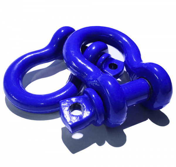 Blue D Ring Shackles 2