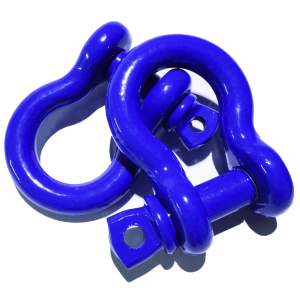 Blue D Ring Shackles