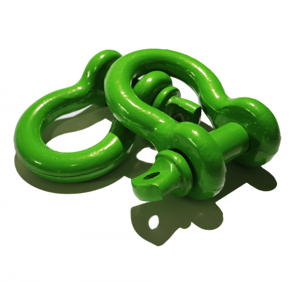 Green D Ring Shackles 2