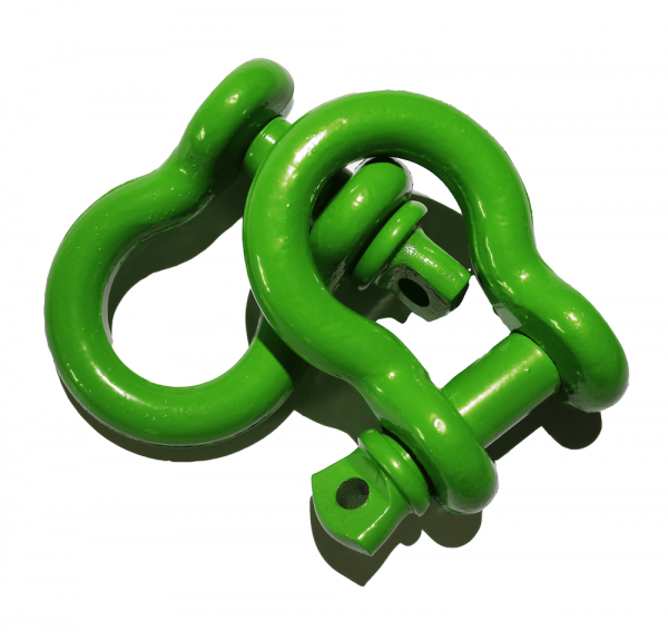 Green D Ring Shackles