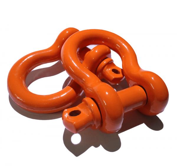 Orange D Ring Shackles 2