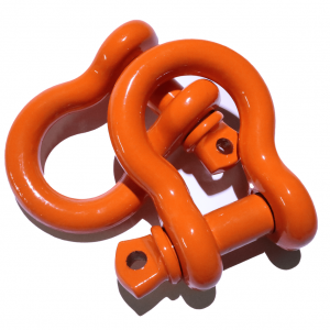 Orange D Ring Shackles